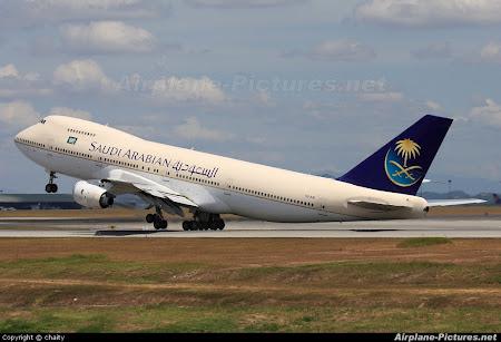 Saudi Airlines spre Asia de Sud Est