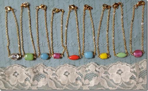 vintage stone bracelets 076