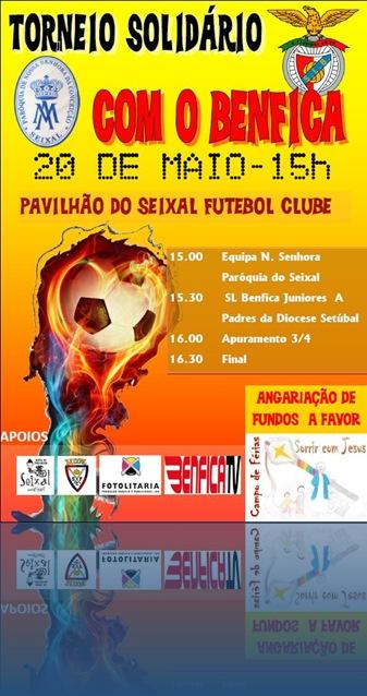 Cartaz Torneio Solidario Futebol