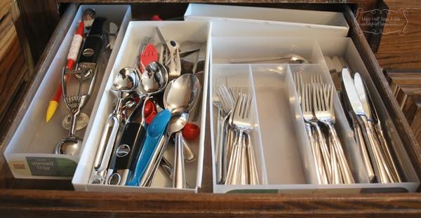Messy unorganized drawer