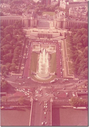 The view from Eiffel Tower