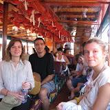Dans le bateau bus