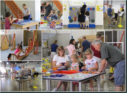science factory collage