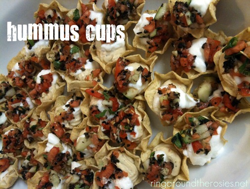 hummus cups