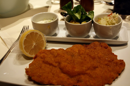 ...and the schnitzel