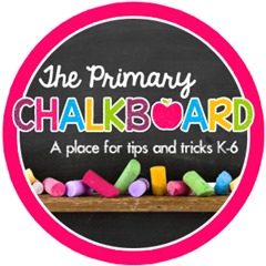 primary chalkboard button