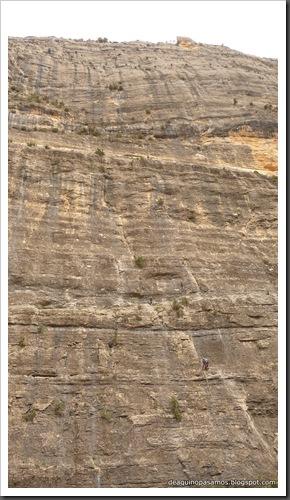 Via Gali-Molero 500m 6b  Ae (V  A1 Oblig) (Roca Regina, Terradets) (Omar) 0154