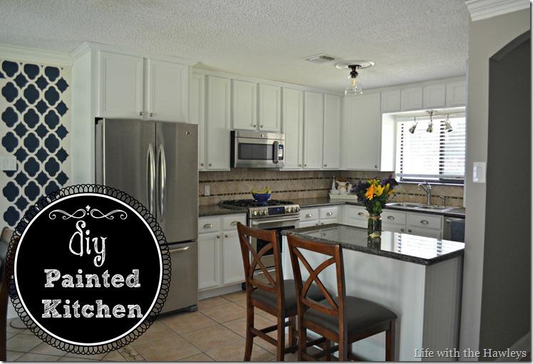 DIY Painted Kitchen