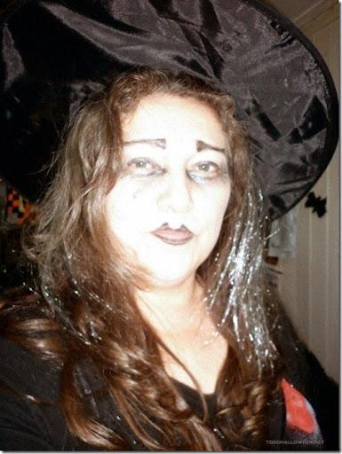 Fotos de los lectores Maquillaje de bruja guapa