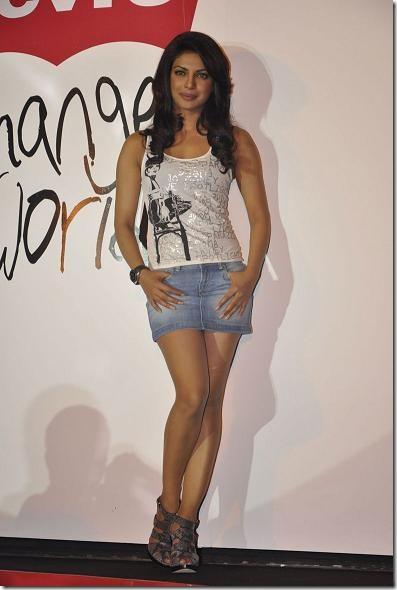 Priyanka Chopra Short Jeans