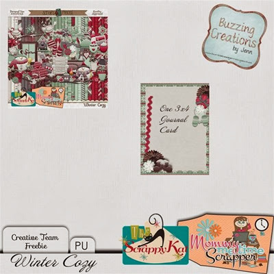 MMTS & TSK - Winter Cozy - Journal Card Preview