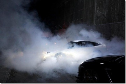 all smokey racing scene