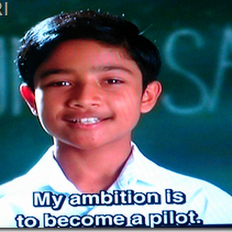 Cerekarama TV3 : Aku mahu terbang