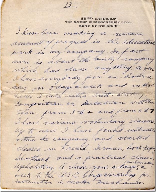 1 June 1919 13