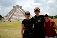 The team at Chichen Itza