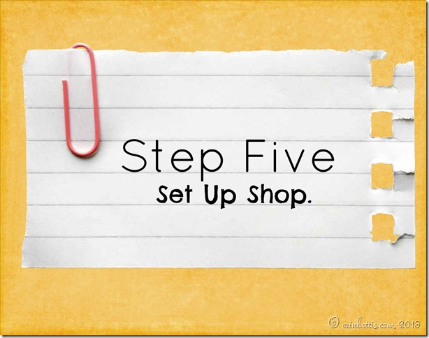 Sale Step Five