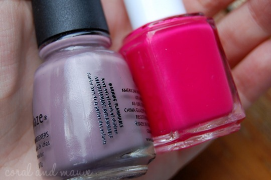 China Glaze Below Deck und Essie Watermelon Maiandjays Bestellung