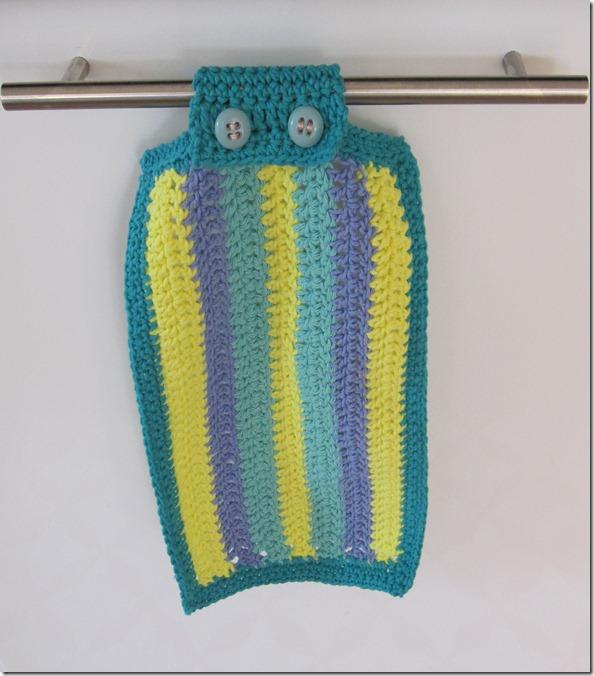 Køkkenhåndklæde hæklet