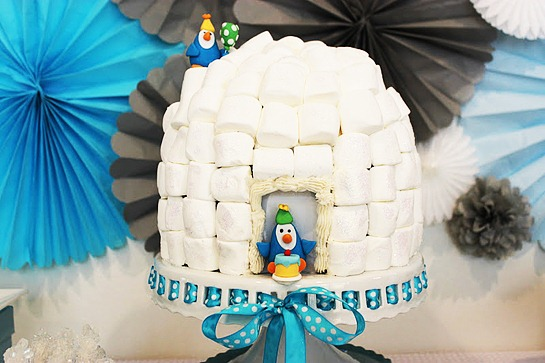Penguin_Party_allergen_free_igloo_cake