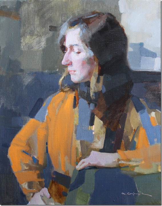 Portrait of Svetlana-Vadim-Suvorov-ENKAUSTIKOS