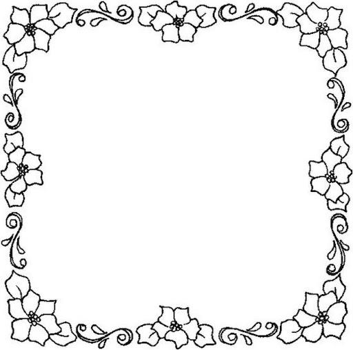 Caratulas de flores para cuadernos para colorear - Imagui