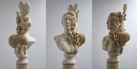 Esculturas surreiais  de Morgan 03