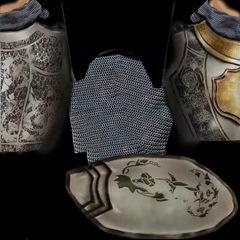 Textura de Armadura Heraldo de Gludio en Lirein, Lineage II