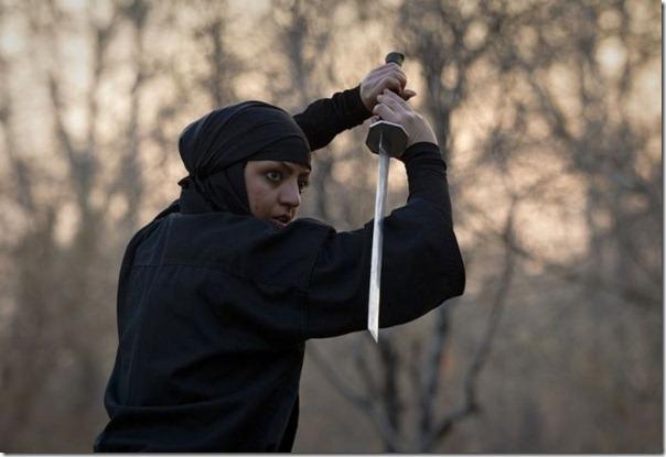Mulheres iraquianas ninjas (5)