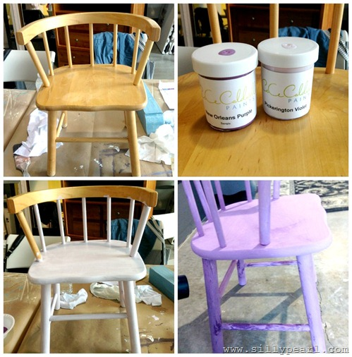 CeCe Caldwell Paint - Chairs WIP