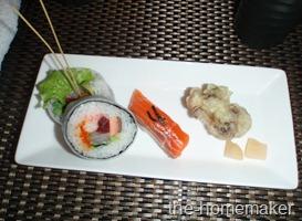 35 Sushi and maitake tempura @ Ninja, Akasaka