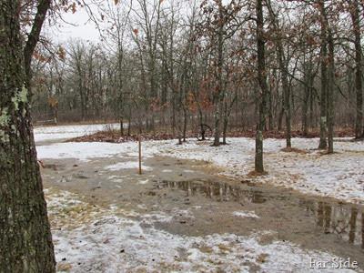 December 23 snowstick at zero