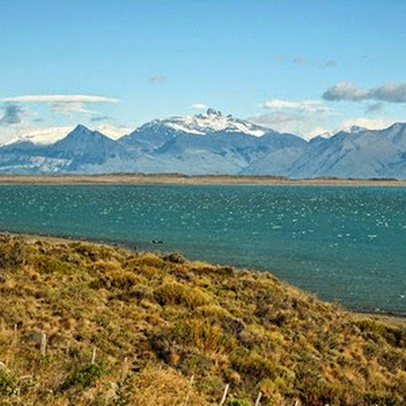 Lago Argentino is the third largest lake in South America.
