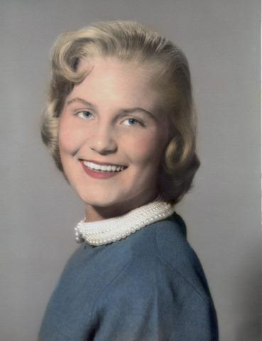 Karen Ann Ostlund, 1956