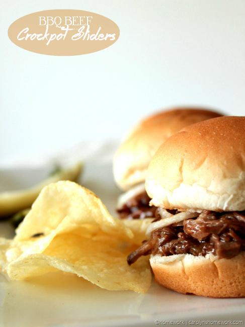 BBQ-Beef-Crockpot-Sliders-via-homewo