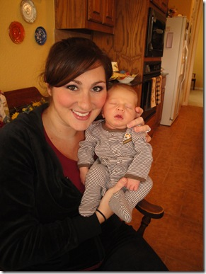 4.  Knox's first Thanksgiving - time with Mommy