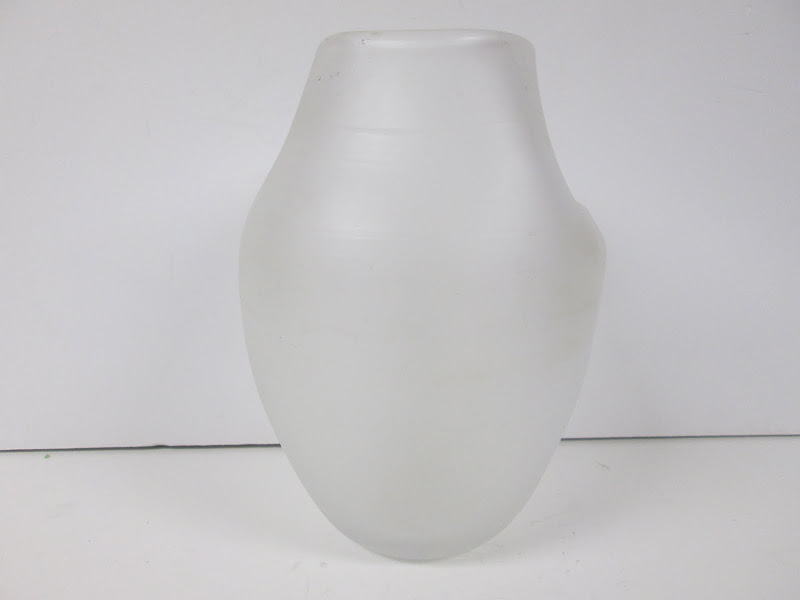 Signed Art Glass Vase 2