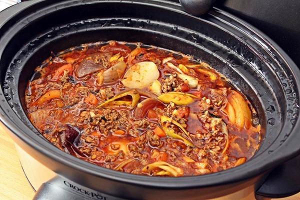 Köttfärssås i Crock-Pot