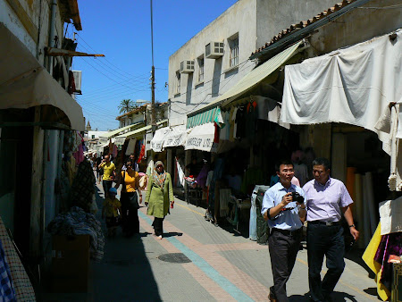 Things to see in Nicosia: bazaar