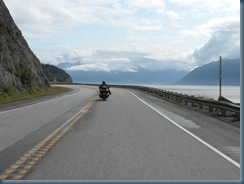Traveling along Cook Inlet
