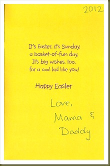 Easter 2012 card 3