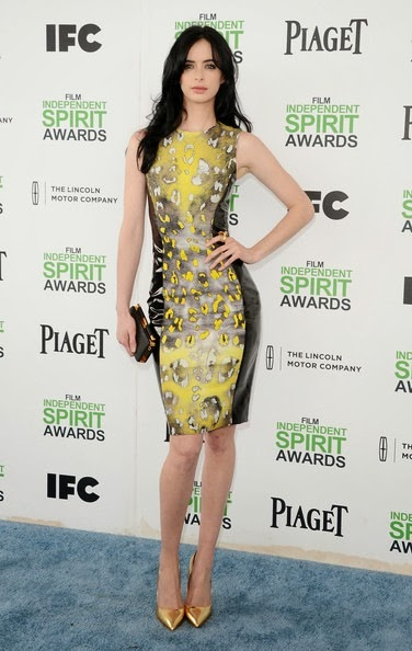Krysten Ritter attends the 2014 Film Independent Spirit Awards