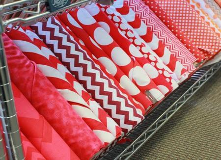 Valentines Day fabrics 4