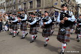 GPS pipe band (Pont-Aven)