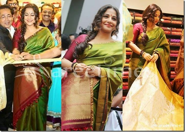 Vidya_Balan_Green_Traditional_Silk_Saree(2)