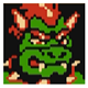 Bowser - World Heroes 2 Nes