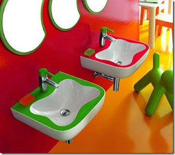 Baños Modernos para Niños3
