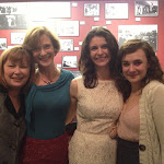 From Left to Right - Donna McGough (Margaret) , Susie Griffith (Eudora), Lucy Carapatyan (Jakey) and Hilary Williams (Bonnie).