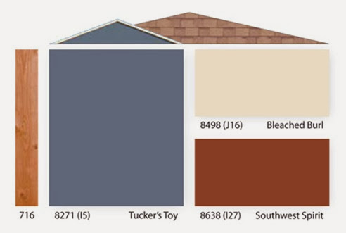 home exterior paint color combinations