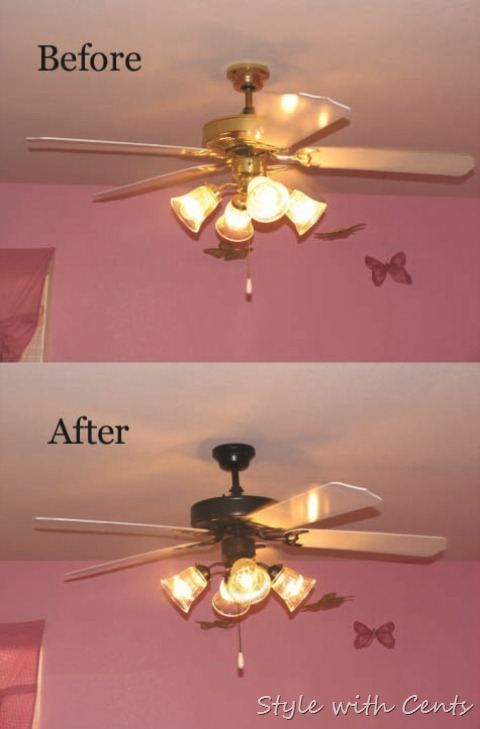 Ashley's room before after 2