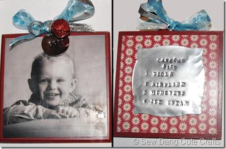 Carson's ornament